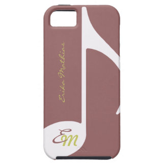 feminine musical note iPhone 5 cases