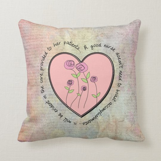 Feminine Nurse Pillow