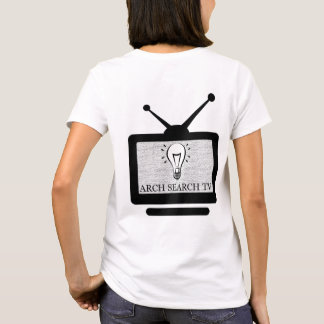 Feminine t-shirt Basic Arch Search TV