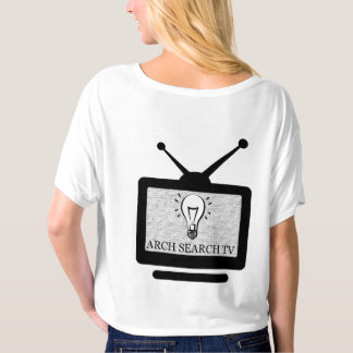 Feminine t-shirt Crop Arch Search TV