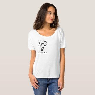 Feminine t-shirt Flowy Simple Arch Search
