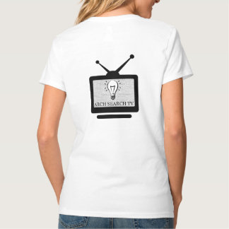 Feminine t-shirt Hanes V Arch Search TV