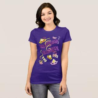 Feminine t-shirt Lilac Carnival of Brazil