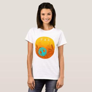 Feminine t-shirt Peace Exclusive Rio De Janeiro