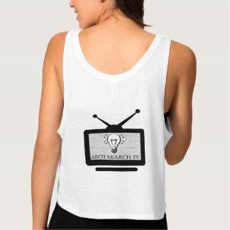 Feminine t-shirt Regatta Crop Arch Search TV