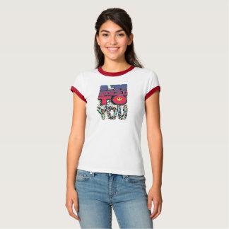 Feminine t-shirt Ringer