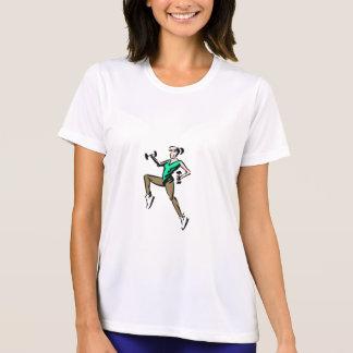 Feminine t-shirt Sport-Tek Competitor, Aeróbica
