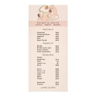 Feminine Vintage Nouveau Mayflies Rack Card