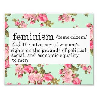 Feminism Definition Print Photo Print