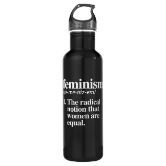 Feminism Definition - The radical notion that wome 710 Ml Water Bottle