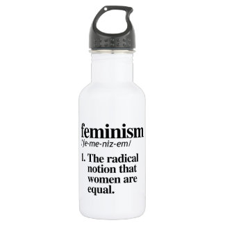 Feminism Definition - Women are Equal 532 Ml Water Bottle