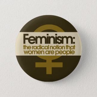 Feminism for Women 2 Inch Round Button