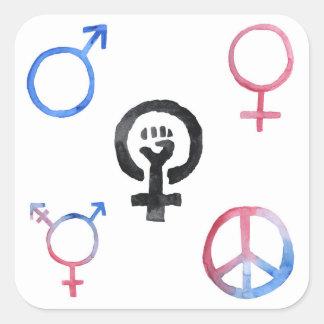 Feminism Icons Stickers