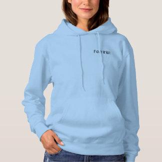 Feminism in Baby Blue Hoodie