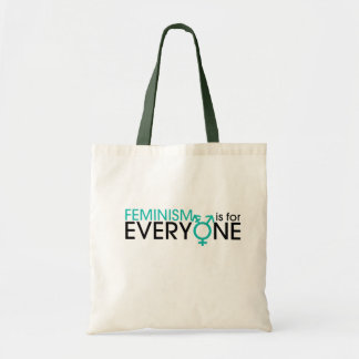 Feminism is for everyone tote