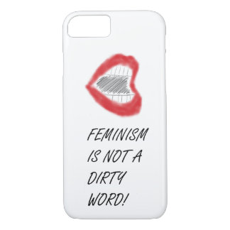 Feminism Isn't a Dirty Word Phone Case