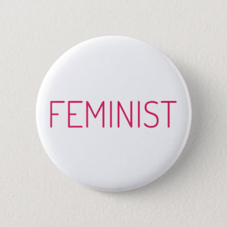 Feminist 2 Inch Round Button