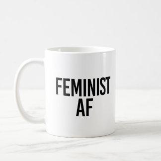 Feminist AF - Coffee Mug