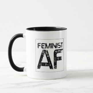Feminist AF -- Mug