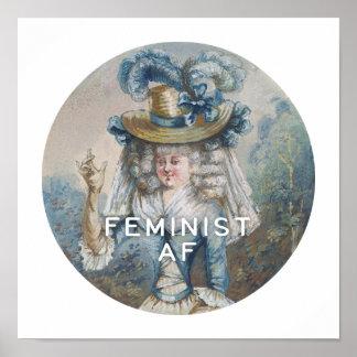 Feminist AF Poster