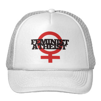 Feminist Atheist Trucker Hats