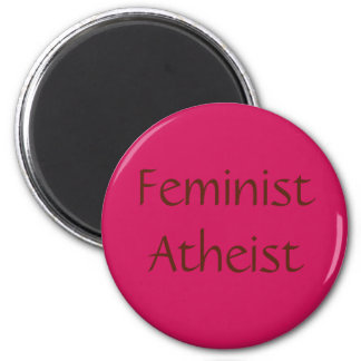Feminist Atheist Magnet