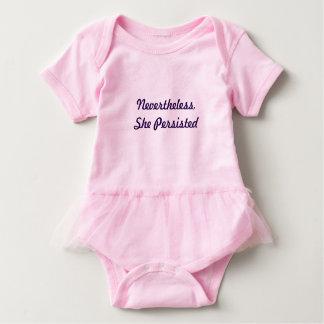 Feminist baby tutu baby bodysuit