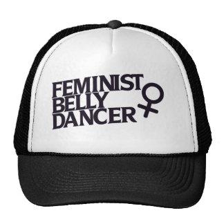 Feminist belly dancer trucker hat