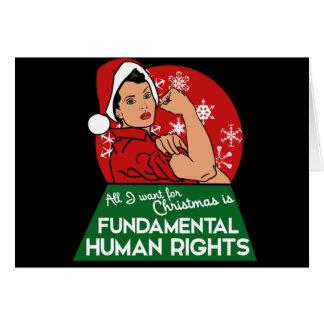 Feminist Christmas Card