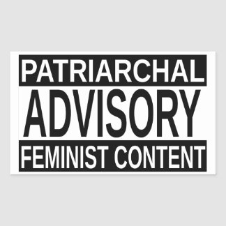 Feminist Content Sticker
