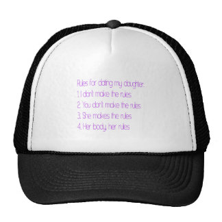 Feminist Father and his rules Trucker Hat