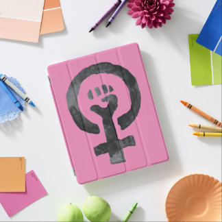 Feminist Fist Icon iPad Cover