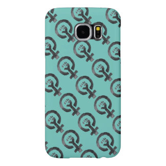Feminist Fist Symbol Samsung Galaxy S6 Cases