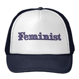 Feminist Mesh Hats