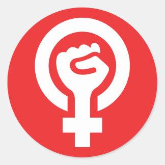 Feminist Power Symbol Sticker