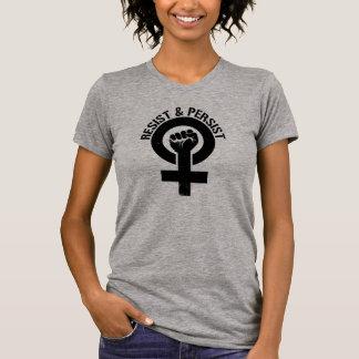 Feminist Resistance - Resist and Persist - T-Shirt