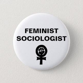 Feminist Sociologist 2 Inch Round Button