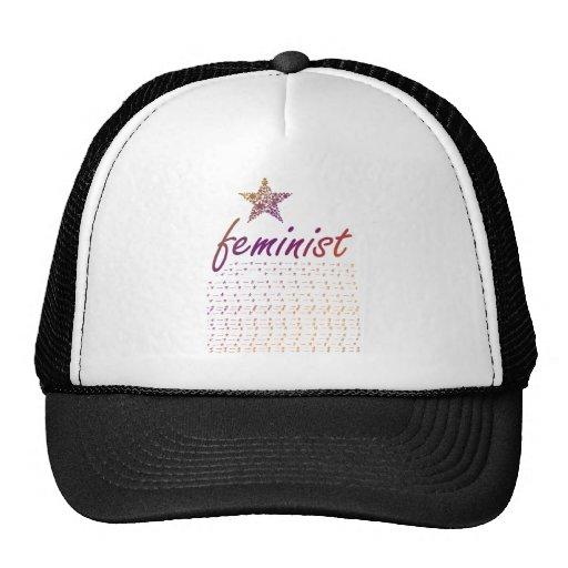 Feminist Star Mesh Hat