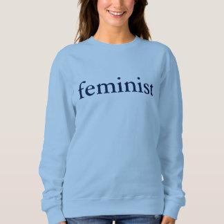Feminist Sweatshirt (alt blue)