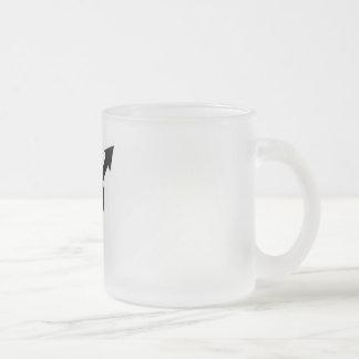 Feminist Symbol Frosted Glass Mug