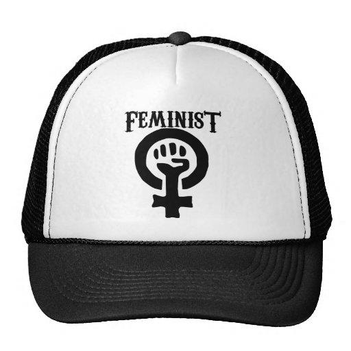 Feminist Symbol Mesh Hats