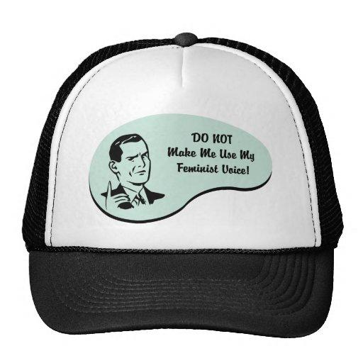 Feminist Voice Trucker Hats