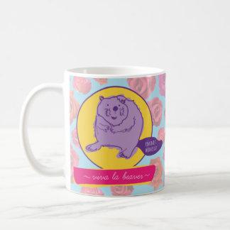 Feminist Wednesday Viva La Beaver Mug