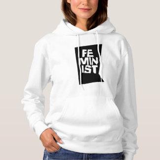 Feminist women female girl me too equal woman hoodie