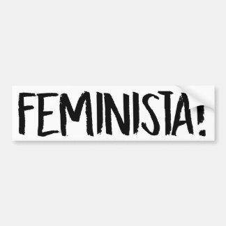 FEMINISTA - Feminist Bumper Sticker -