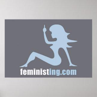 Feministing Poster