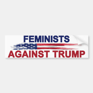 Feminists Against Trump Bumper Sticker