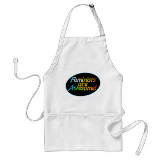 Feminists are awesome standard apron