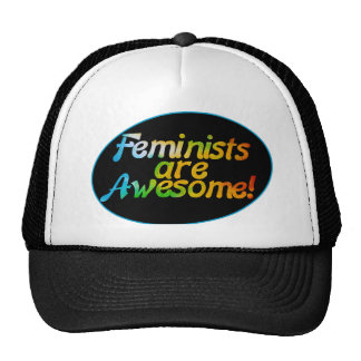 Feminists are awesome trucker hat
