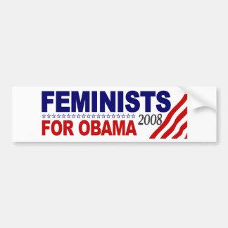 Feminists for Obama 2008 Bumper Sticker